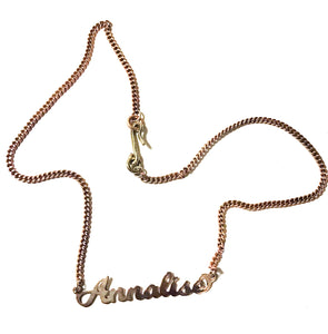 Personalized Monoglam Necklace