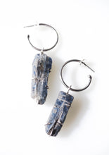 Kyanite Changeling Hoops