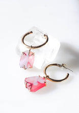 Pink Changeling Hoops