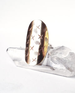 Persephone Shield Ring