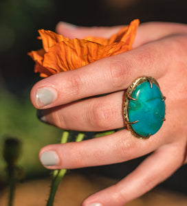 Lucia Turquoise Ring