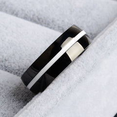 Firefighter Stainless Steel Ring