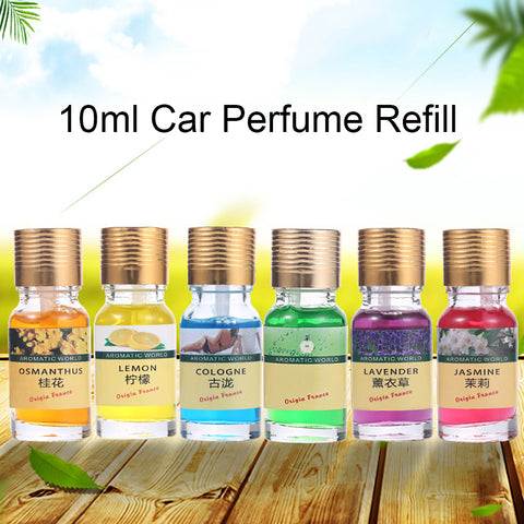 10ml Car Perfume Refill Air Freshener Multi-flavor Liquid Essential Oil Scent - Jonjarash Shop