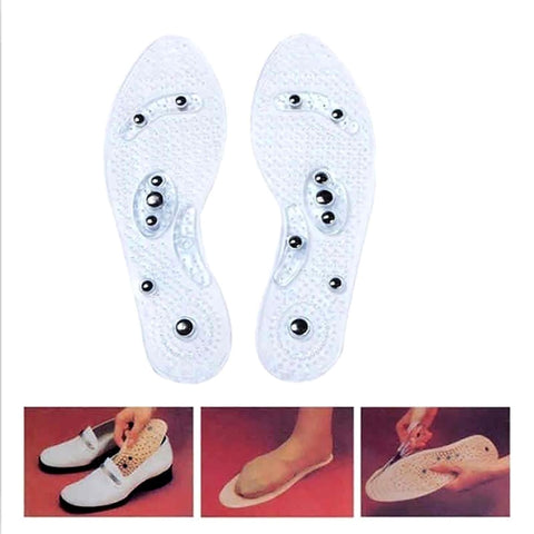 Shoe Gel Insoles Magnetic Therapy Comfort Pads - Jonjarash Shop