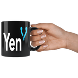 Yen White and Blue Mug - Jonjarash Shop