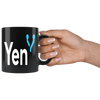 Image of Yen White and Blue Mug - Jonjarash Shop
