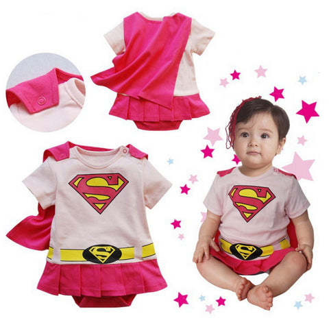 Baby Superman Jumpsuit - Jonjarash Shop