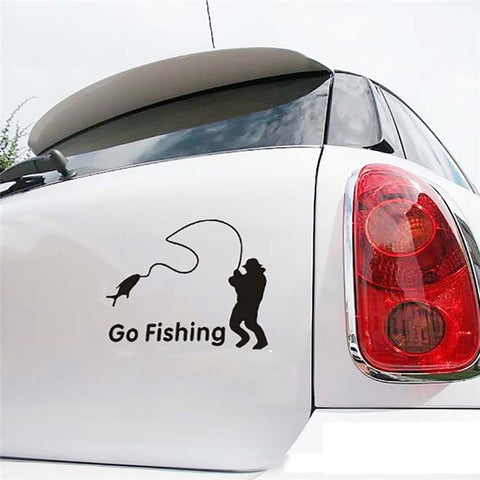 Popular Go Fishing  Vinyl Car Graphics - Jonjarash Shop
