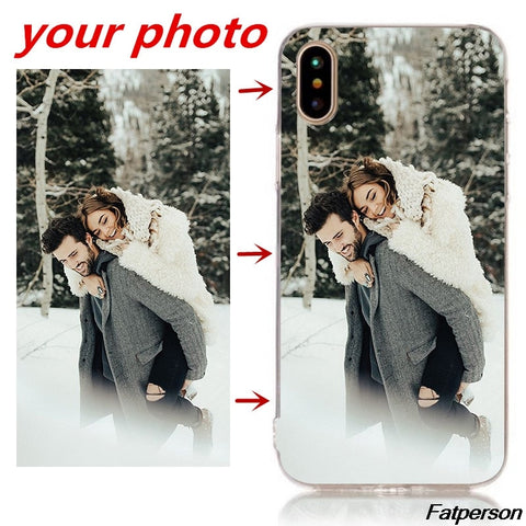 Custom Print Photo IPhone Cases - Jonjarash Shop