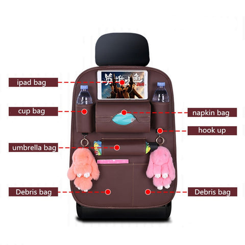 Car Seat Back Storage Organizer - Jonjarash Shop