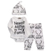 Image of 3pc. set New Addition to Family Romper - Jonjarash Shop