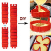 Image of 4 Pcs/set Flexible DIY Silicone Cake Mold - Jonjarash Shop