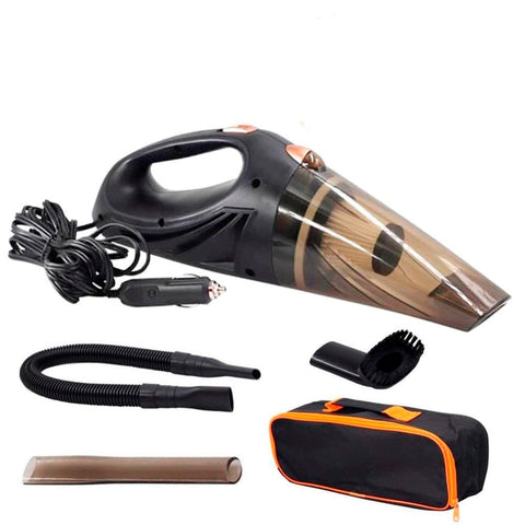 Strong Power Car Vacuum Cleaner DC 12 Volt 120W with Handbag - Jonjarash Shop