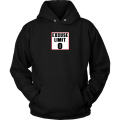 Excuse Limit Hoodie - Jonjarash Shop