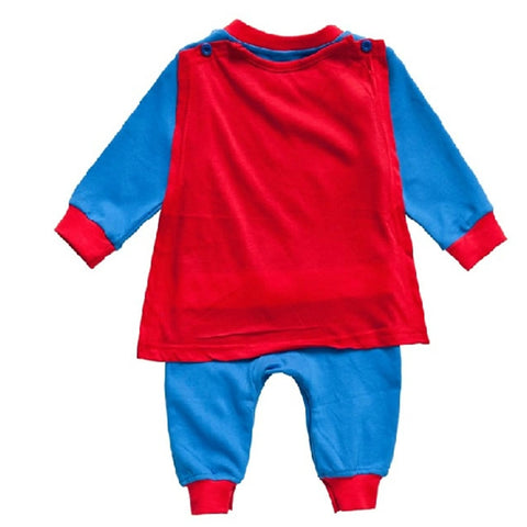 Superman Long Sleeve Romper - Jonjarash Shop