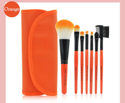7pcs/kits Makeup Brushes Professional Set - Jonjarash Shop
