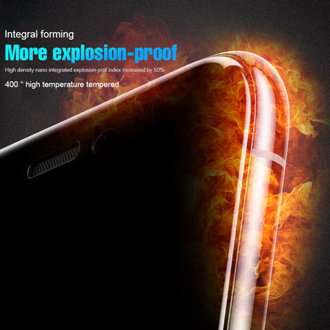 Anti-fingerprint 9D Protective Glass For iPhone 6 6S 7 8 Plus X - Jonjarash Shop