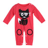 Image of Monster Cartoon Baby Long Sleeve Rompers - Jonjarash Shop