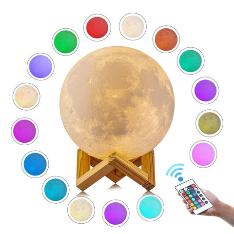 Customized Personality 3D Moon Light - Jonjarash Shop