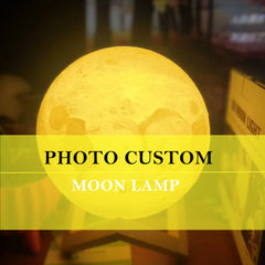 Customized Personality 3D Moon Light