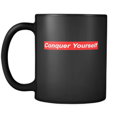 Conquer Yourself Mug - Jonjarash Shop