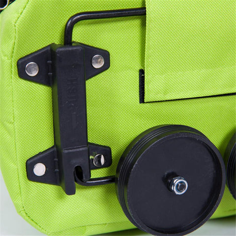 Fashion Folding Home Trolley Shopping Bag Reusable Shopping Cart Eco-friendly - Jonjarash Shop