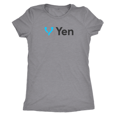 Yen Black and Blue logo Women - Jonjarash Shop