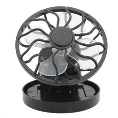 Portable Mini Solar Powered Clip Fan Hat Cap
