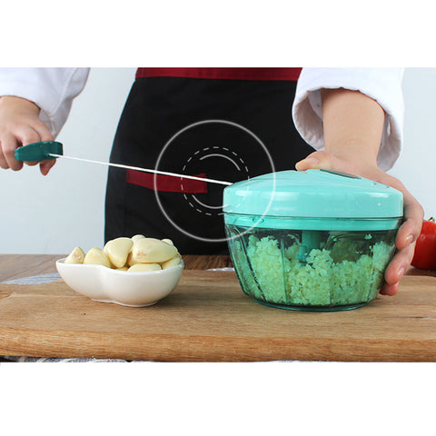 Pull String Manual Food Processor - Jonjarash Shop