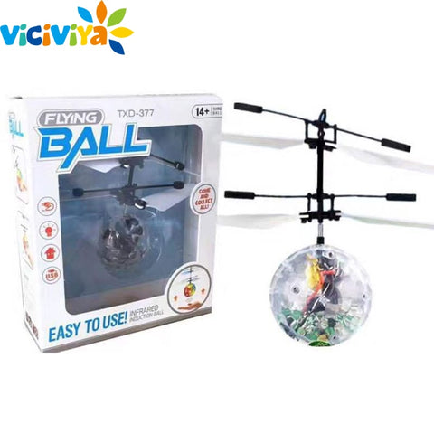 FREE RC Flying Ball Luminous Kid's Flight Balls Electronic Infrared Induction Aircraft - Jonjarash Shop