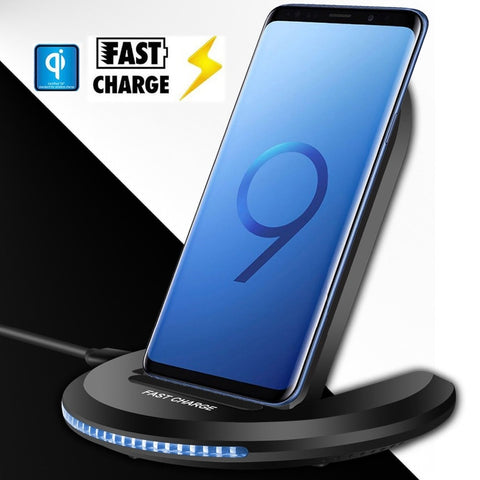 Universal 10W Qi Wireless Fast Charger for iPhone X 10 8 Plus Samsung Galaxy S9 S8 Note 8 Xiomi Phone - Jonjarash Shop