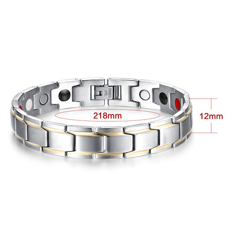 Trendy Magnet Bracelet Health Care Magnetic / Germanium - Jonjarash Shop