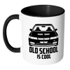 Image of Old School Is Cool Mug - Jonjarash Shop