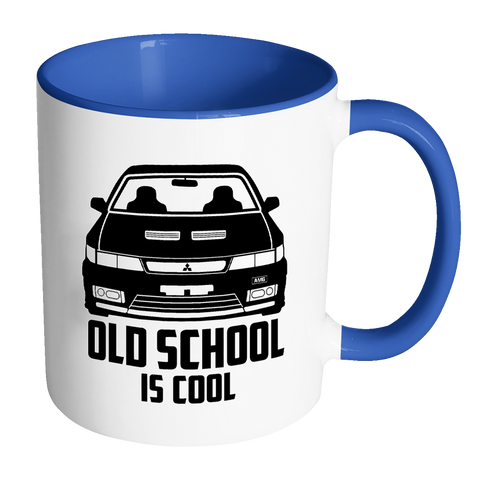 Old School Is Cool Mug - Jonjarash Shop