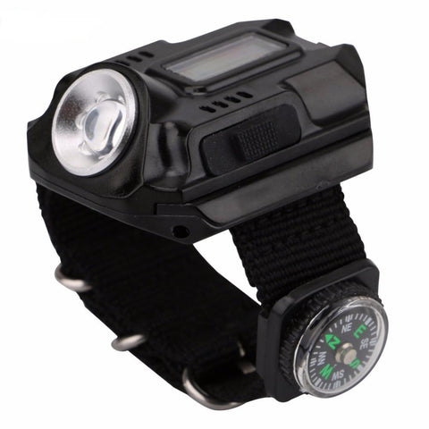 LED Tactical Wrist Watch Flashlight - Jonjarash Shop