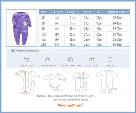 Baby Jumpsuits Pajamas Soft Fleece - Jonjarash Shop