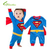 Image of Superman Long Sleeve Romper - Jonjarash Shop