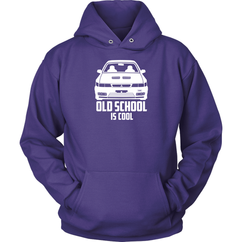 Old School is Cool Hoodie - Jonjarash Shop