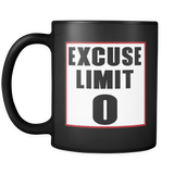 Excuse Limit 0 Mug - Jonjarash Shop