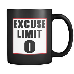 Excuse Limit 0 Mug