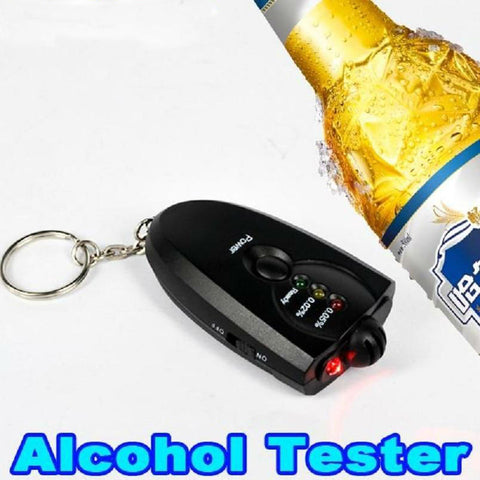Keychain Alcohol Breath Tester Breathalyzer - Jonjarash Shop