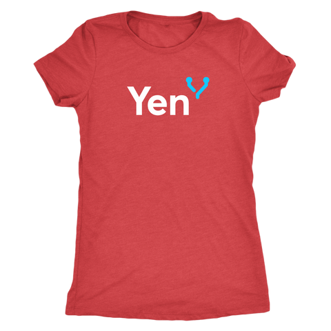 Yen White and Blue logo Women - Jonjarash Shop