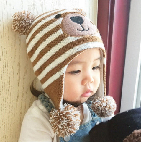 Baby Bear Bonnet - Jonjarash Shop
