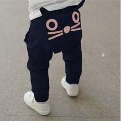 Cute Cartoon Owl Trousers - Jonjarash Shop