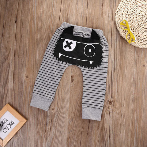 Casual Toddler Cartoon Harem Pants - Jonjarash Shop