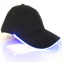 Unisex Glow in Dark Light Up LED Hat