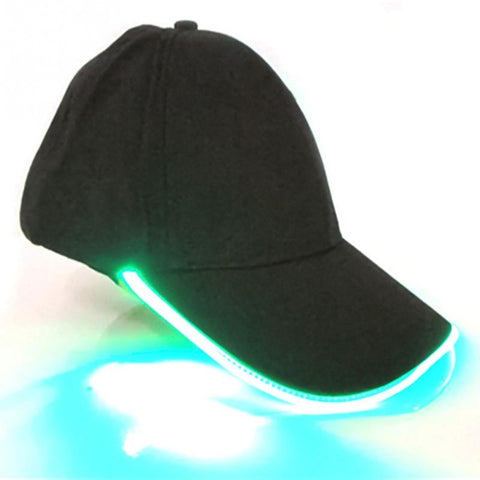 Unisex Glow in Dark Light Up LED Hat - Jonjarash Shop