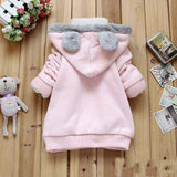 Cartoon Rabbit Fleece hooded jacket - Jonjarash Shop