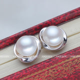 100% Genuine Natural Pearl Earrings - Jonjarash Shop