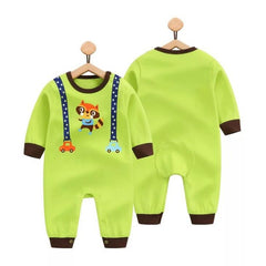 Cute Penguin, Duck, Dog Characters Romper